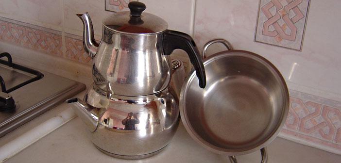 Şaşırtan Çaydanlık Temizleme Yöntemi ile ilgili görsel sonucu